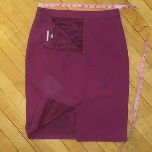 Halogen Skirts - Halogen magenta pencil skirt